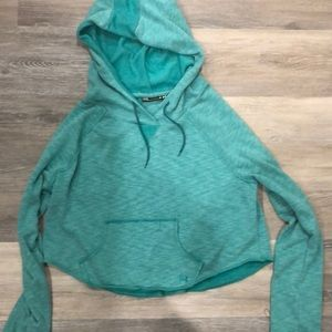 Under armour crop hoodie never worn